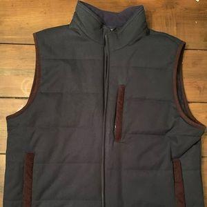 Brooks Brothers Navy Vest Men's Size L
